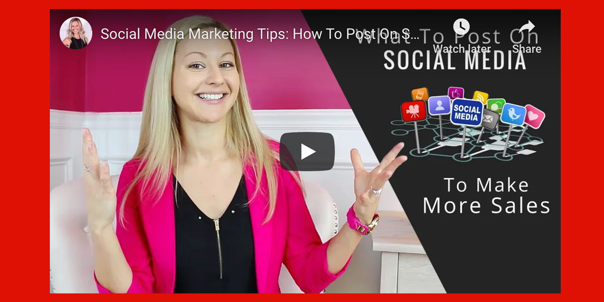 Social Media Marketing Tips: How To Post On Social Media To Make MoreSales